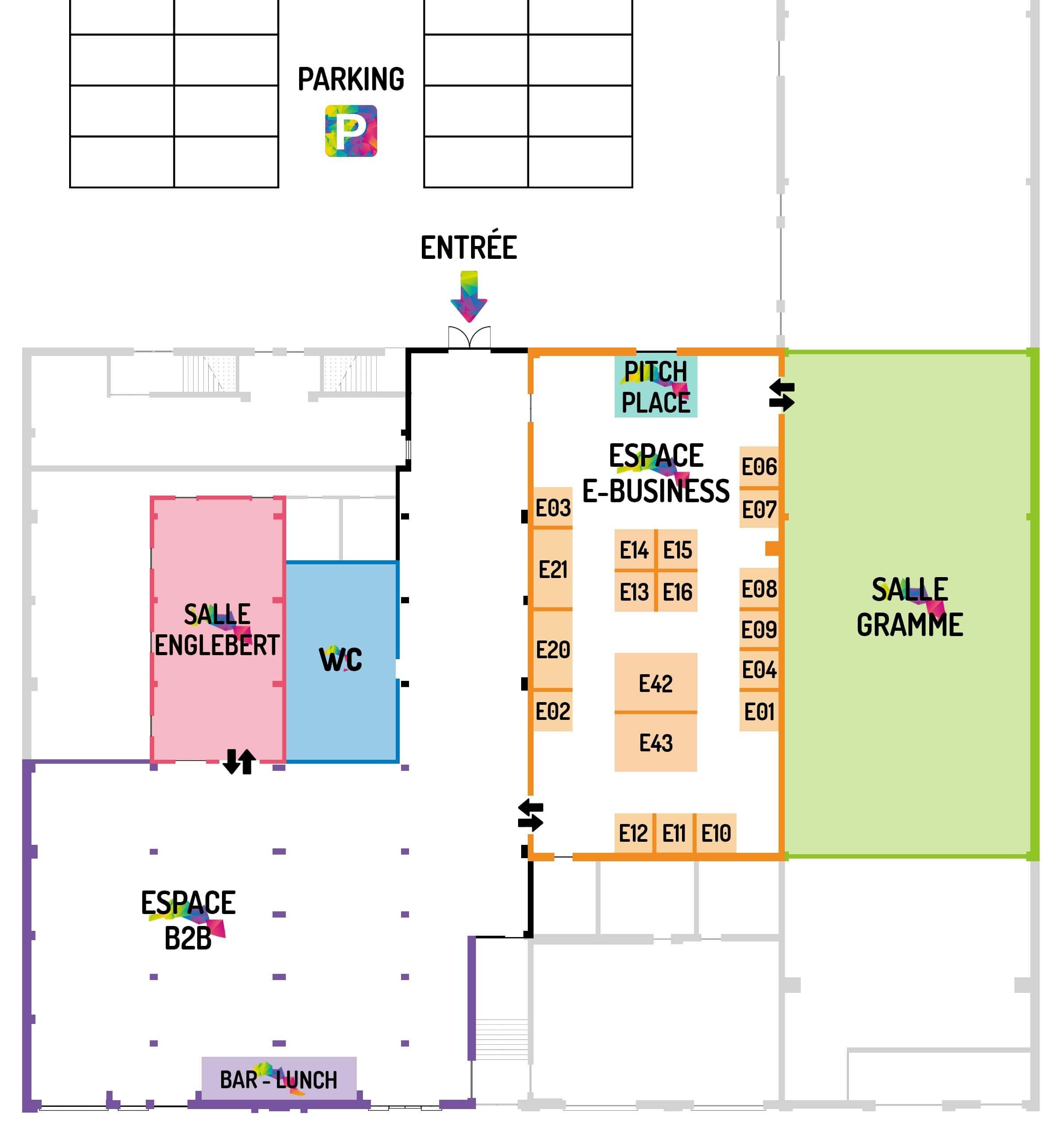 E-FORUM 2017 - Plan de l'événement