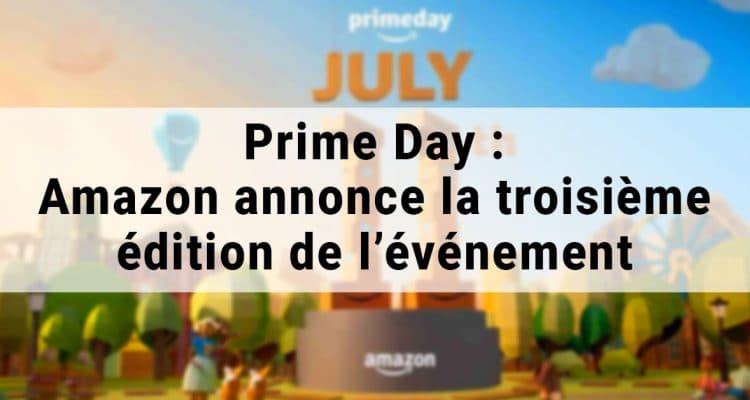 E-FORUM News - Amazon annonce la troisième édition de Prime day